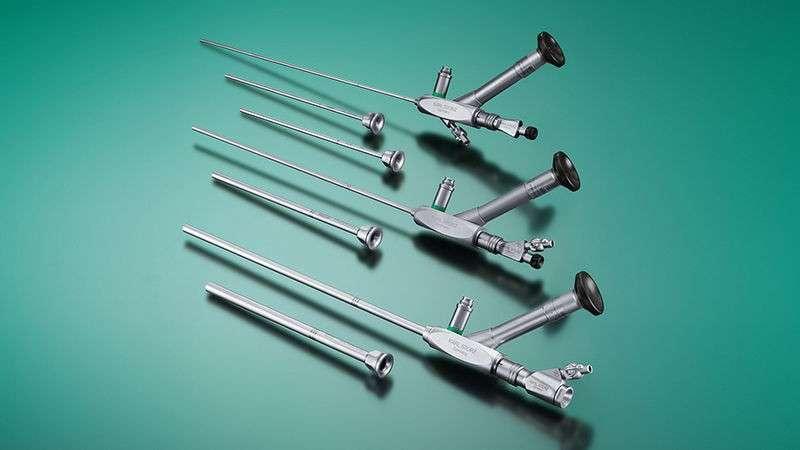 Manutenção em ureteroscópio