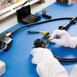 Manutenção em equipamentos de endoscopia