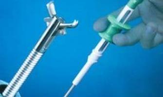 Manutenção em pinças endoscopia