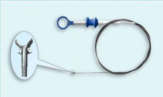 Manutenção em pinças endoscópicas