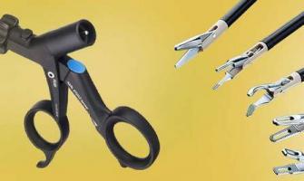 Manutenção em pinças de vídeo cirurgia